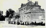 La mairie et l'école de garçons
